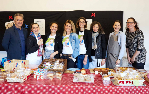 A French Bake Sale Organised by Saint Maur Parents for a Good Cause
