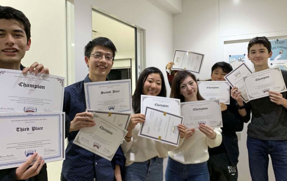 IAC Asian Division Online Bee Success