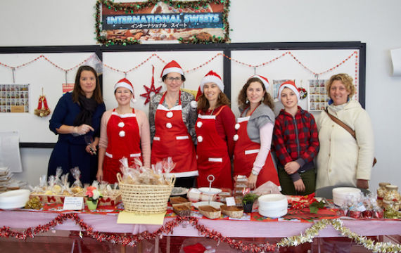 Successful Christmas Bazaar 2018 - Many Thanks From PSG