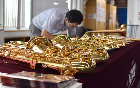 Instrument Fair for Band Program Students