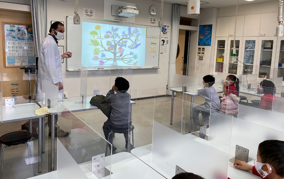 Grade 1 Students Learn About the Origin of Life on Earth