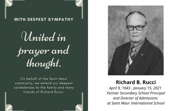 Passing of Richard B. Rucci